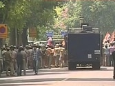 Congress workers protest against BJP attack on PM, storm barricades outside BJP headquarters