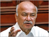Eye specialist more important than dead comrades. Sushilkumar Shinde finds time to visit Chhattisgarh today