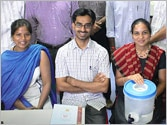 Bright lights of IIT Madras devise wonder water filter