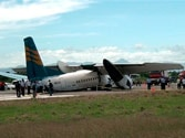 Two mishaps in a day: Both in same model of Chinese-made plane