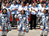 Back to Earth! Chinese astronauts return home after 15-day space trip