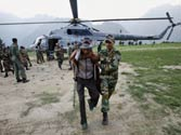 Armed forces resume rescue operations in flood-hit Uttarakhand