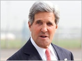 John Kerry begins his first visit to India, pushes for bilateral investment treaty