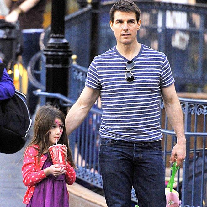 Tom Cruise Special Weekend With Suri Showbiz News
