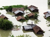 Brahmaputra floods wreak havoc in Assam, displace over one lakh in state