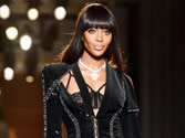 Naomi Campbell back on runway for Versace