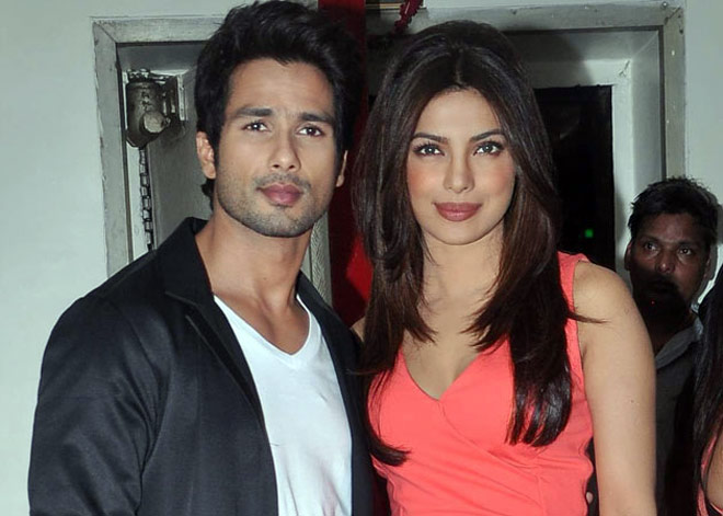 Image result for priyanka chopra with shahid kapoor pic