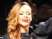 Rihanna wears nothing but a cardigan at Paris Fashion Week