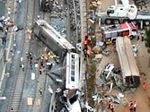 Driver of derailed Spanish train charged with 79 counts of homicide