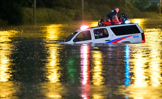 Toronto floods leave several roads, underpasses under water
