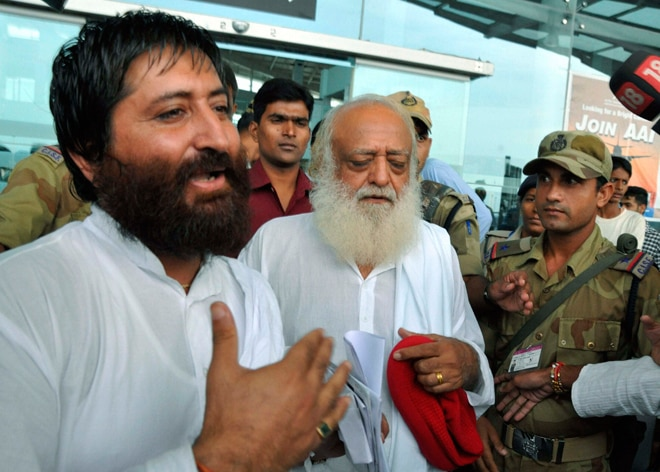 Asaram with son