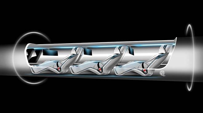 Faster than a plane! Elon Musk unveils 'Hyperloop' transport concept that promises to cover 400 miles in 30 minutes