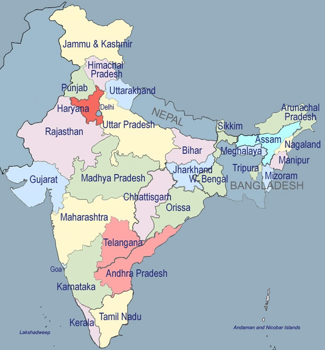 India likely to have 50 states if all demands of new states ...