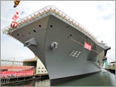 Japan unveils largest warship since World War II amid growing tensions with China