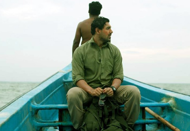 Still from Madras Cafe