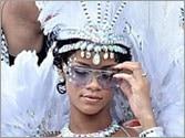 Rihanna flaunts her bikini body at Barbados carnival