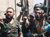 Syrian troops ambush rebels near Damascus, kill at least 62