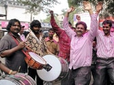 Telangana state: Protests continue in all major towns of Seemandhra