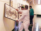 VHP activists vandalise art gallery displaying paintings of Pakistani artists in Ahmedabad