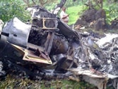 Private chopper crashes near Mumbai, all five aboard killed