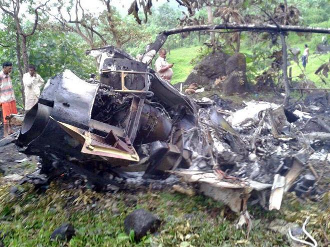 Private chopper crashes near Mumbai, all five aboard killed - India News