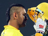 Captain Punk! Dhoni's Mohawk hogs limelight during CSK's CLT20 opener