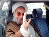 Iran's President Rouhani shows moderate face, tones down anti-Israel rhetoric