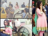 Kareena Kapoor spotted with a baby bump