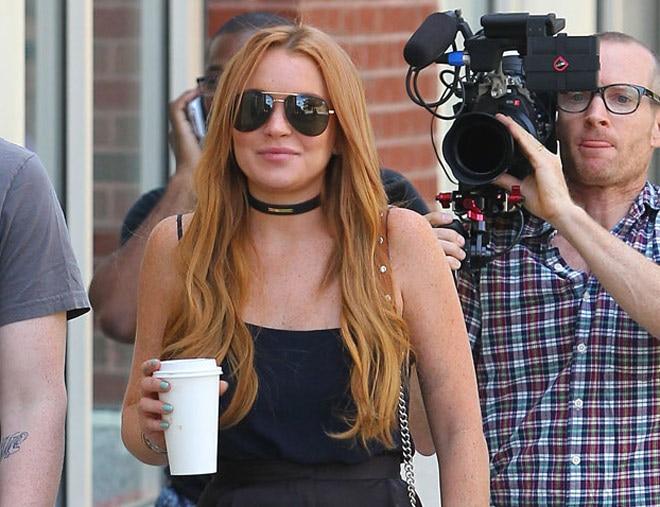 Matt dating Lindsay Lohan