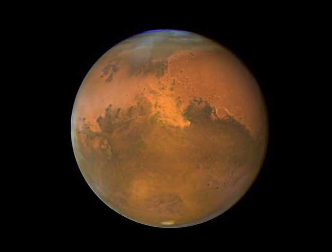 Mars is also known as red planet