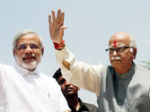 Advani cornered: The BJP is set to ride roughshod over his opposition to Modi