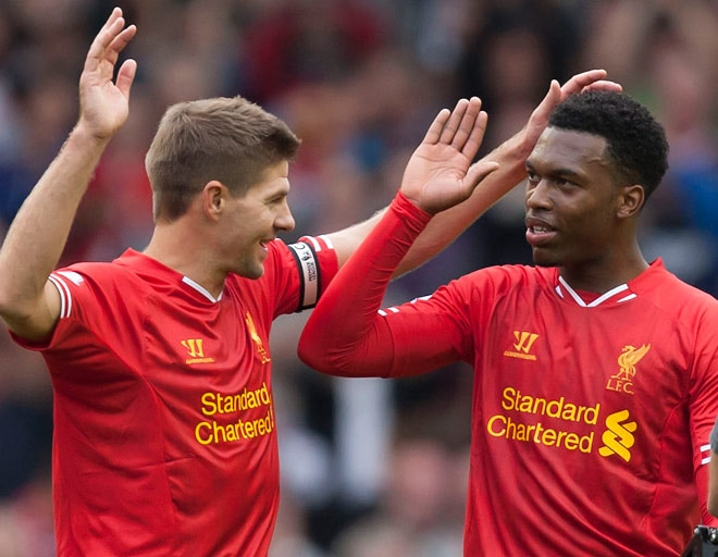 Gerrard and Sturridge