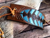 Flaunt leather accessories with Indian prints