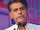 Manish Tewari blames ex-CAG Vinod Rai for economic downturn