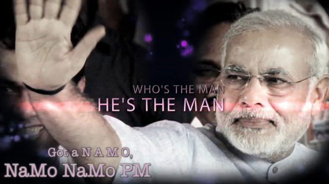 NaMo Rap' video by Bangalore-based singer goes viral online