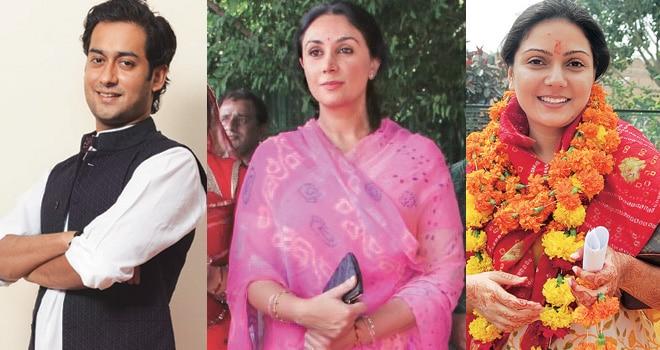 Biggies from royal families of Rajasthan and Madhya Pradesh