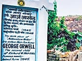 Shooting of documentary on George Orwell's birthplace in Motihari begins