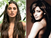 Topless Bollywood beauties