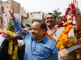 BJP may edge past in a tough triangular contest with Congress and Aam Aadmi Party