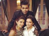 Priyanka, Deepika come together for Koffee with Karan