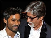Dhanush to work with Big B and R Balki