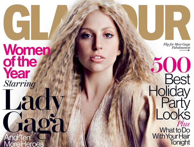 lady gaga slams her own glamour magazine cover - movies news