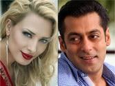 Did Salman Khan meet Iulia Vantur in Romania?
