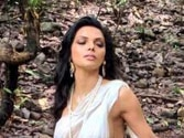 Sherlyn Chopra dons a see-through saree on the poster of Kamasutra 3D