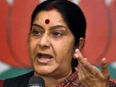 Snooping row: Sushma Swaraj defends Modi, says Congress is frustrated