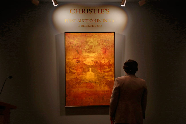 Vasudeo Gaitonde S Work Sells For Record Breaking Rs 20 5