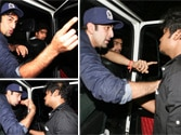 Ranbir Kapoor snatches away video camera of media person