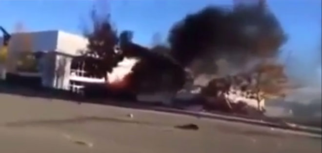 Paul Walker's death: New footage shows ill-fated car on fire moments