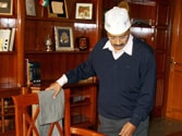 Kejriwal takes charge as Delhi CM, discusses women's security with police chief