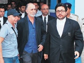 Tejpal pleads for a fan in his cell but court reserves order till Wednesday